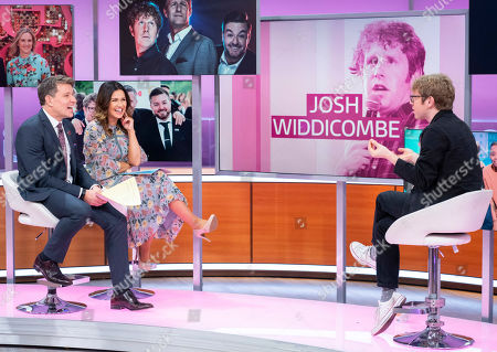 Ben Shephard and Susanna Reid with Josh Widdicombe