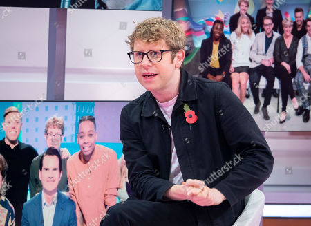 Editorial photo of 'Good Morning Britain' TV show, London, UK - 07 Nov 2019