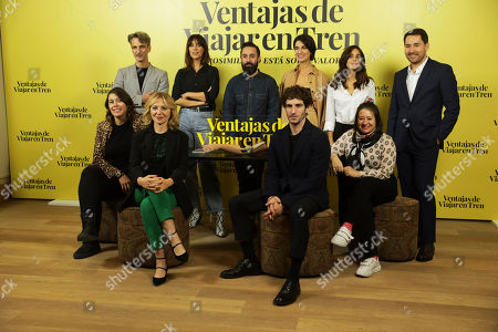 Editorial image of 'Ventajas De Viajar En Tren' film photocall, Madrid, Spain - 05 Nov 2019