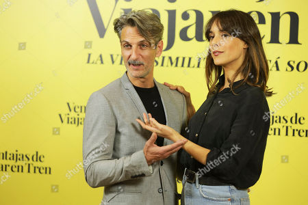 Editorial photo of 'Ventajas De Viajar En Tren' film photocall, Madrid, Spain - 05 Nov 2019