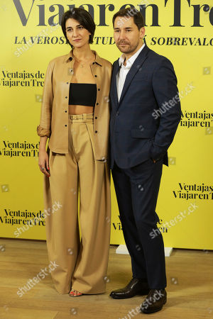 Stock Picture of Javier Godino and Stephanie Magnin