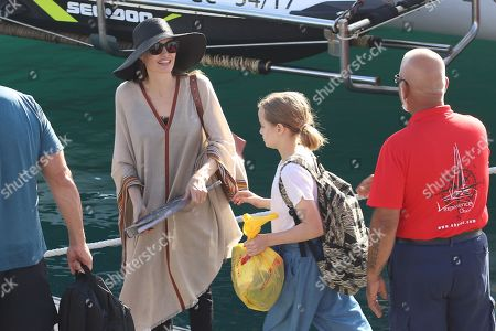 Editorial picture of Angelina Jolie out and about, Fuerteventura, Spain - 04 Nov 2019