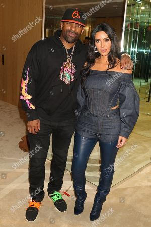 DJ Clue and Kim Kardashian West