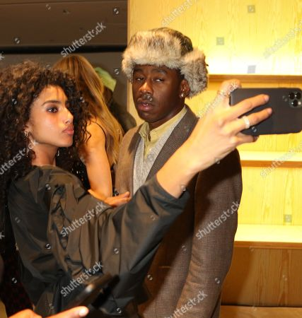 Imaan Hammam and Tyler the Creator