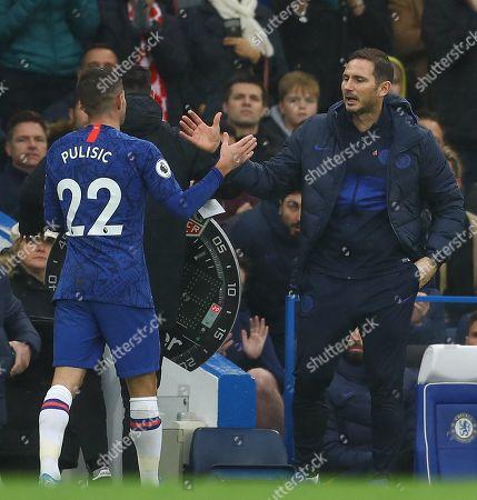 Editorial picture of Chelsea v Crystal Palace, Premier League, Football, Stamford Bridge, London, UK - 09 Nov 2019