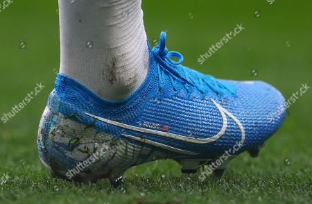 The Nike boots of Christian Pulisic of Chelsea