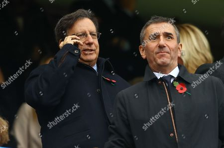 Liverpool chairman Tom Werner in the stands