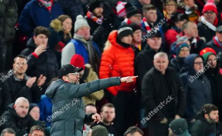 Editorial picture of Liverpool v Manchester City, Premier League, Football, Anfield, Liverpool, UK - 10 Nov 2019