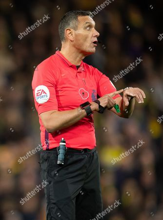 Stock Photo of Referee Andre Marriner