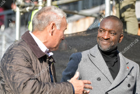 Chris Powell, England coach talks to Peter Taylor