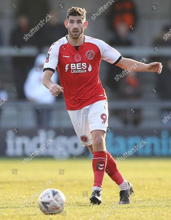 Ched Evans of Fleetwood Town