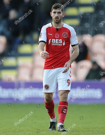 Stock Image of Ched Evans of Fleetwood Town
