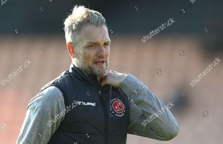 Fleetwood Town  assistant manager  Clint Hill