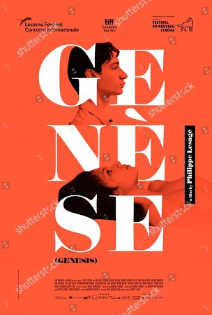 Genesis (2018) Poster Art. Theodore Pellerin as Guillaume and Noee Abita as Charlotte