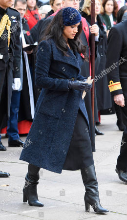 Editorial photo of Westminster Abbey Field of Remembrance opening, London, UK - 07 Nov 2019