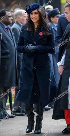 Editorial image of Westminster Abbey Field of Remembrance opening, London, UK - 07 Nov 2019