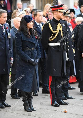 Stock Picture of Meghan Duchess of Sussex, Prince Harry