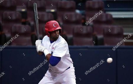 Raul Gonzalez (CUB) in action