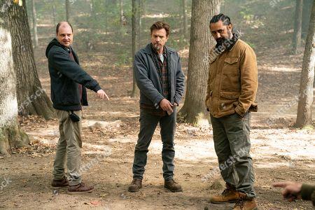 Mike Flanagan Director, Ewan McGregor as Danny Torrance and Cliff Curtis as Billy Freeman