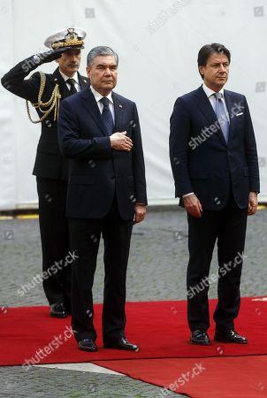 Editorial picture of President of Turkmenistan Berdimuhamedow visits Italy, Rome - 07 Nov 2019