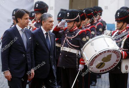 Editorial image of President of Turkmenistan Berdimuhamedow visits Italy, Rome - 07 Nov 2019