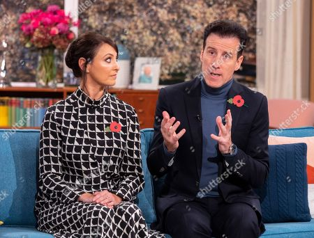Stock Picture of Anton Du Beke and Emma Barton