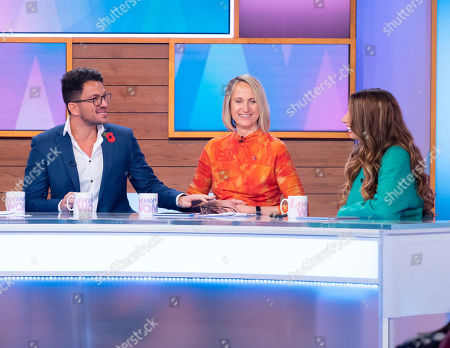 Peter Andre, Carol McGiffin and Stacey Solomon
