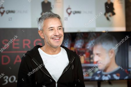 Sergio Dalma poses during an interview on occasion of the release of his new album '30...y tanto' (lit. 30...something) in Madrid, Spain, 07 November 2019. Sergio Dalma launches this new album to celebrate his 30 year music career.