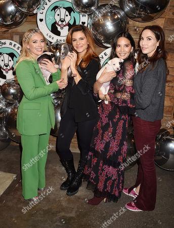 Hilary Duff, Maria Menounos, Olivia Munn, Whitney Cummings