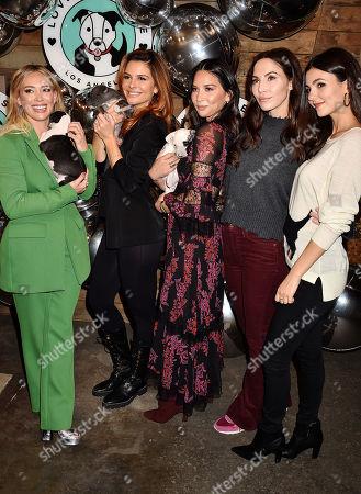 Hilary Duff, Maria Menounos, Olivia Munn, Whitney Cummings, Victoria Justice