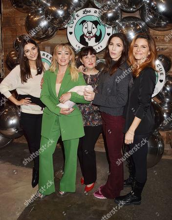 Victoria Justice, Hilary Duff, Sasha Abelson, Whitney Cummings, Maria Menounos