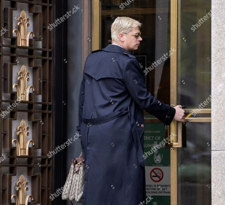 Conservative British commentator Milo Yiannopoulos arrives to attend the trial of Roger Stone, former advisor to US President Donald J. Trump, at DC Federal District Court in Washington, DC, USA, 07 November 2019. Stone has been charged with seven counts of obstruction of justice, making false statements and witness tampering.