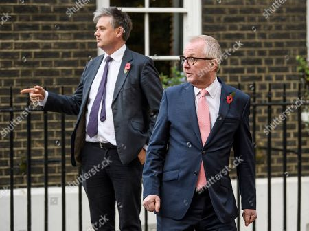 Editorial image of Former Labour MPs Ian Austin and John Ashworth press conference, London, UK - 07 Nov 2019