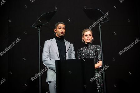 Kingsley Ben-Adir and Denise Gough