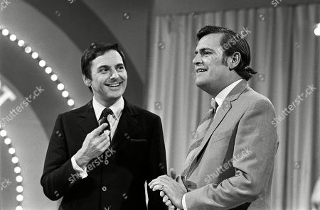 Bob Monkhouse and Gerald Flood
