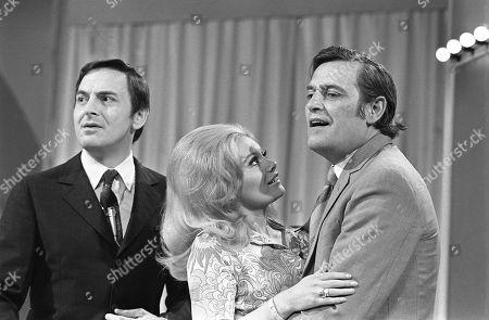 Bob Monkhouse, Anne Aston and Gerald Flood