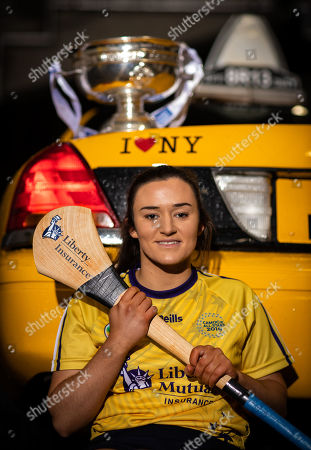Stock Image of Two teams comprising the country's top Camogie stars will jet out to New York later this month as Camogie goes 'On Tour' to the Big Apple for the second Liberty Insurance Camogie All-Stars Tour. This year's match will also break new ground by being the first Camogie match to be live-streamed from outside of Ireland. The match will be broadcast on Liberty Insurance's Facebook page as the game truly goes international. Recipients of All-Stars Awards from 2018 and 2019 as well as several nominees will take off for New York on Thursday November 21st where they will play an exhibition match in Gaelic Park in the Bronx on Saturday November 23rd with throw-in taking place at 9pm Irish time (4pm Local time). The teams will include stars from seven counties including Cork's Amy O'Connor, Galway's Sarah Healy and Kilkenny's Grace Walsh who were all in attendance at today's launch in Croke Park. O'Connor collected her first All-Stars Award this year as did goalkeeper Healy after a summer to remember for the Tribeswomen in which she starred between the posts in their All-Ireland Final win. Walsh will represent the 2018 All-Stars having collected her first award last year. The Tour will also include several other stalwarts of the game including Cork legend Aoife Murray who won her 8th All-Stars Award in 2018, and Kilkenny's Anne Dalton who claimed the Player of the Year Award in 2018. Niamh Kilkenny, the current Player of the Year will also take part. Galway's Cathal Murray and Cork's Paudie Murray will manage the sides. Paudie picked up the 2018 Manager of the Year Award having guided the Rebels to a record 28th All-Ireland title whilst Cathal is the current Manager of the Year having masterminded Galway's League and Championship double in 2019. Kildare's Ray Kelly who refereed this year's Senior All-Ireland Final will be the man in the middle for the exhibition match. The Tour will also engage with the local Irish community in New York with a reception at the Ir