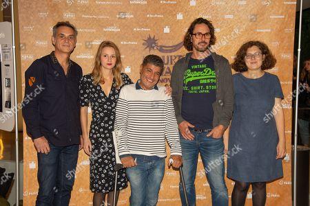 Stock Picture of Jury Series Projects - Allan Mauduit, Tiphaine Daviot, Adda Abdelli, Bertrand Deve and Segolen Zaug