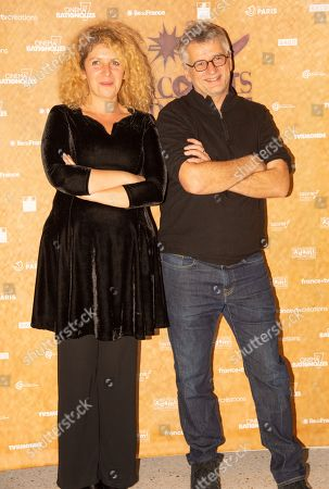 Stock Picture of Jury presidents - Baya Kasmi and Michel Leclerc