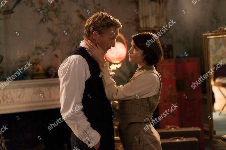Rupert Penry Jones as Harold Nicolson and Gemma Arterton as Vita Sackville-West