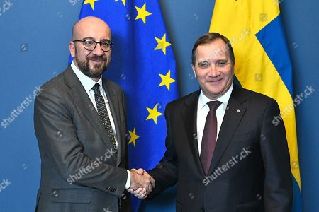 Editorial image of President-elect of the European Council Charles Michel in Stockholm, Sweden - 07 Nov 2019
