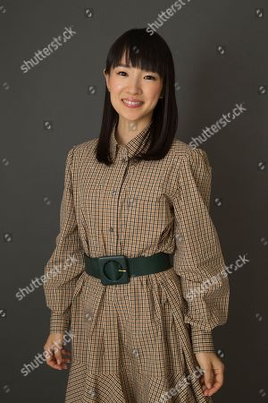 """Stock Photo of Marie Kondo poses for a portrait to promote her children's book """"Kiki & Jax: The Life-Changing Magic of Friendship"""", in New York"""
