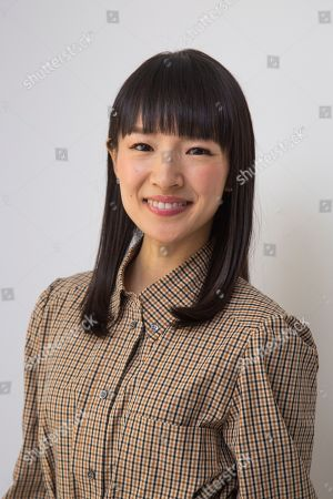 """Marie Kondo poses for a portrait to promote her children's book """"Kiki & Jax: The Life-Changing Magic of Friendship"""", in New York"""