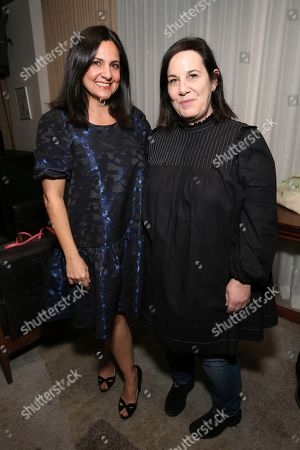 """Carineh Martin, Arianne Phillips. Carineh Martin and Arianne Phillips seen at the """"Dark Waters"""" Tastemaker Screening hosted by Rooney Mara and RAD, in West Hollywood, Calif"""
