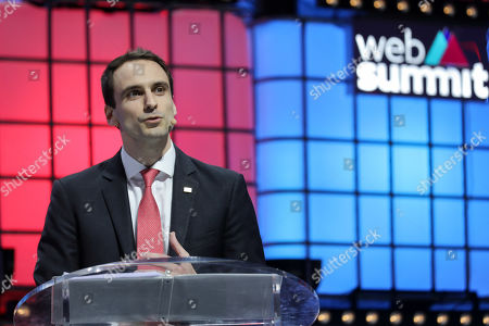 Technology policy advisor of White House and CTO of the United States, Michael Kratsios speaks during the 2019 Web Summit at Atlantic Pavilion in Lisbon, Portugal, 07 November 2019. The 2019 Web Summit, considered the largest event of startups and technological entrepreneur ship in the world, takes place from 04 to 07 November.