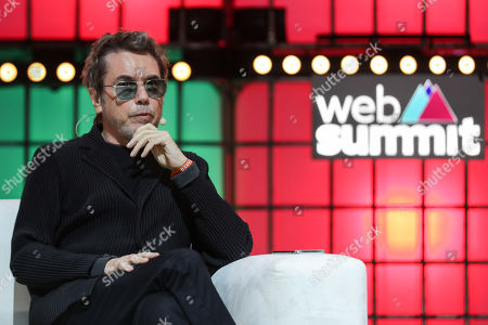 Musician Jean-Michel Jarre speaks during the 2019 Web Summit at Atlantic Pavilion in Lisbon, Portugal, 07 November 2019. The 2019 Web Summit, considered the largest event of startups and technological entrepreneur ship in the world, takes place from 04 to 07 November.