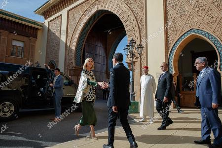 Ivanka Trump, Saadeddine el-Othmani. Ivanka Trump, the daughter and senior adviser to President Donald Trump, shakes hands with Prime Minister of Morocco Saadeddine el-Othmani, in Rabat, Morocco