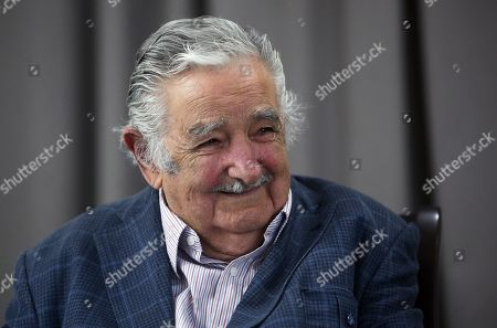 Uruguayan former president Jose Mujica (2010-2015) attends a press conference at a hotel of Montevideo, Uruguay, 07 November 2019. Mujica was announced as future minister of Livestock, Agriculture and Fisheries in case the candidate of Broad Front Daniel Martinez wins the presidency in the elections of November 24.