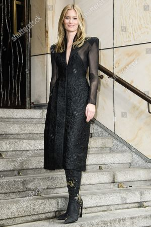 German model Charlott Cordes arrives for the GQ Men of the Year 2019 awards show in Berlin, Germany, 07 November 2019. The international monthly men's magazine GQ presents the award to personalities from the show and music businesses as well as society, sport, politics, culture and fashion.
