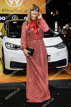 German actress Nastassja Kinski arrives for the GQ Men of the Year 2019 awards show in Berlin, Germany, 07 November 2019. The international monthly men's magazine GQ presents the award to personalities from the show and music businesses as well as society, sport, politics, culture and fashion.